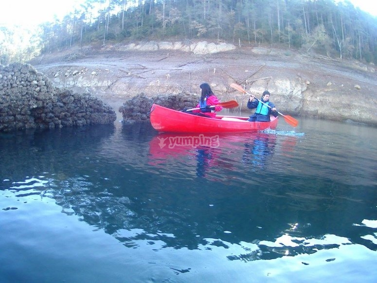 Canoe in Bacells