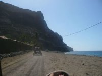 Paseo bordeando la costa Canaria