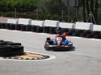 Taking the curve in the kart