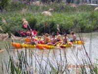 Despedidadcon kayaks