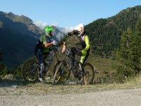 MTB山地自行车旅游在安道尔