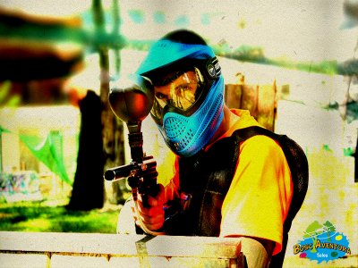 Bosc Aventura  Paintball