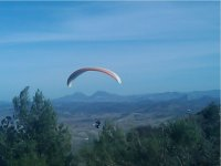 The experience of paragliding in Seville