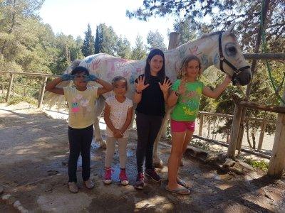 Campamento hípico de verano, Sant Feliu, semanal