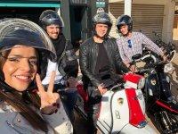 Date una vuelta con los amigos con nuestra scooter Scomadi