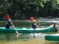 在阿斯图里亚斯的教训独木舟路线