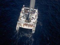 Uno de nuestros catamaranes