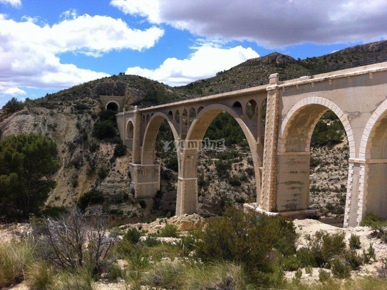 Puente desde donde saltamos