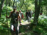 在阿斯图里亚斯徒步旅行