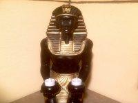 Estatua sedente
