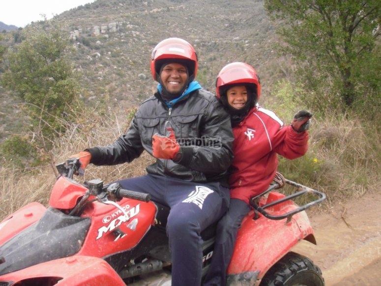 家庭四轮摩托车