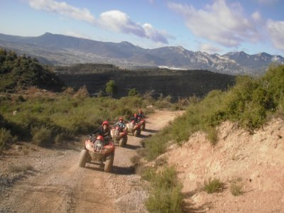 Two-Seater Quad Outdoor Route in Berguedà
