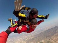 Flying in freefall