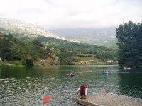 Canoas en el rio Trubia