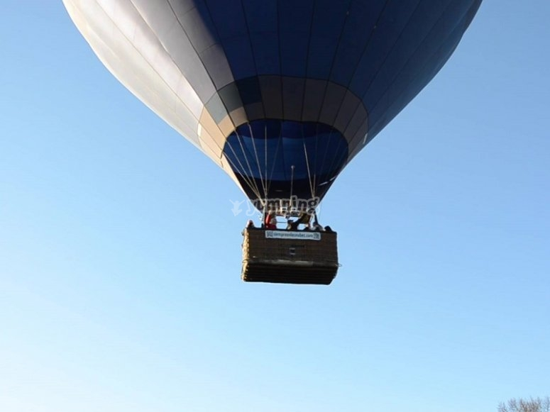 Balloon flight experience in Madrid