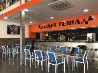 Mesas del bar cafeteria