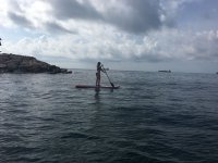 Paddle surf in mare aperto