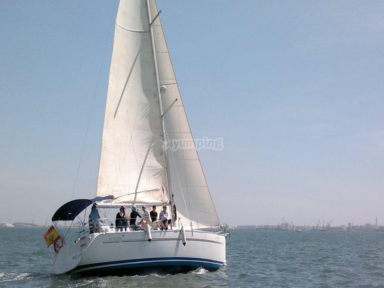 En aguas de Cadiz