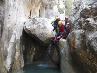 Jump in the ravine of forat negre