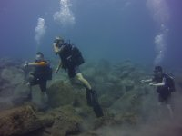 Bajo el mar tinerfeno