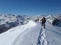 Rutas en la nieve