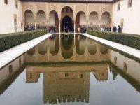 阿尔罕布拉宫的庭院