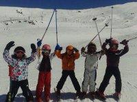 Cursillo esquí infantil