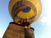 照片从上面的气球照片自拍