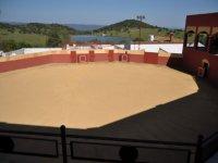 Plaza de capeas en Castilblanco