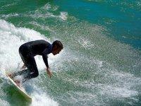 Con las mejores olas