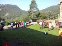 Horse riding in Cardi Moixero