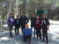 Participantes de la tirolina