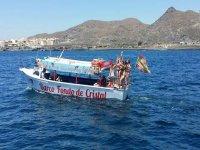 De fiesta en el barco