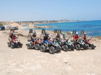 Quad excursions by the sea