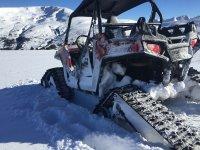 Buggy especial para la nieve
