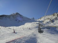 Chairlift in grandvalira