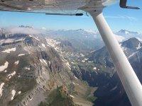Sobrevolando las montanas vascas