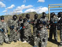Evento de teambuilding con paintball