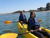 Rutas para niños en kayak