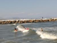 Empieza con olas pequeñas para pasar despues a las grandes