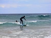 Aprende a subirte a una ola