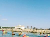 Rutas en kayak por el rio Segura