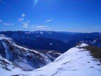 Los paisajes nevados de Andorra