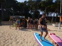 Breve introduccion al paddel surf