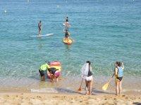 Salidas de SUP en Lloret de Mar