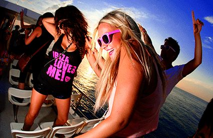 Party Boat en Montequinto