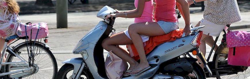 滑板车租赁优惠伊维萨岛