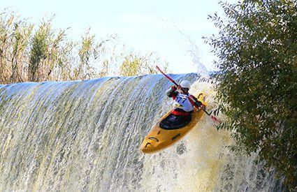Kayaks en Huelva