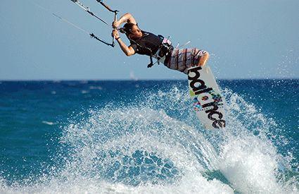 Kitesurf en España