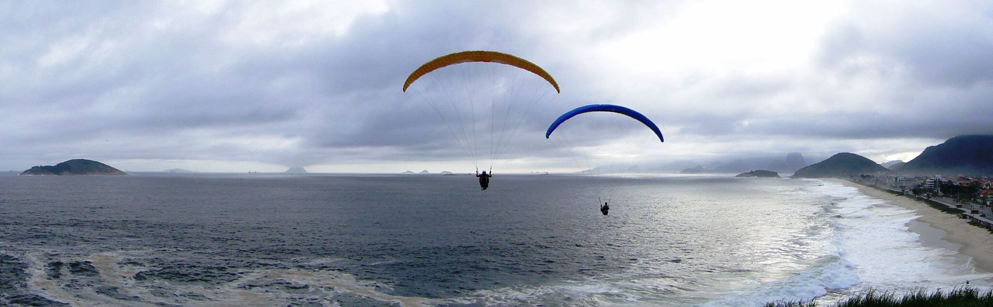 Paragliding in El Altet